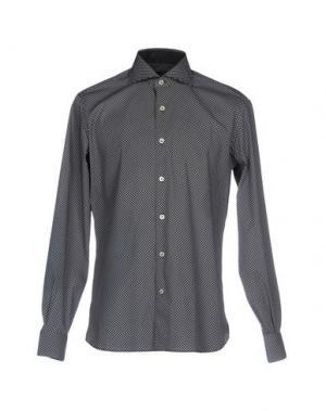 Pубашка DOMENICO TAGLIENTE. Цвет: черный