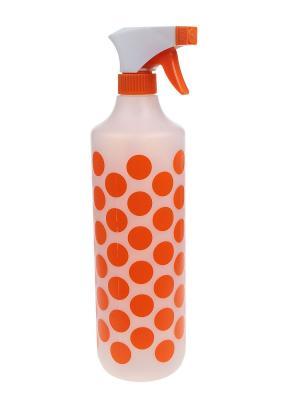 Пульверизатор, 1 л. Migura. Цвет: прозрачный, белый, оранжевый