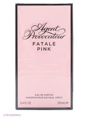 Парфюмерная вода FATALE PINK, 100 мл AGENT PROVOCATEUR. Цвет: розовый