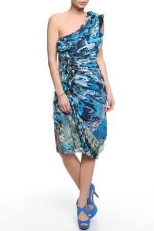 Платье Malandrino. Цвет: голубой