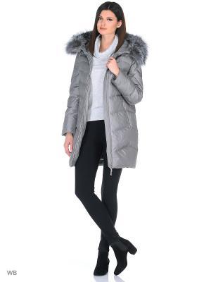 Пальто Romantic Collection.. Цвет: серый