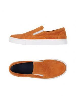 Низкие кеды и кроссовки FABIANO RICCI. Цвет: ржаво-коричневый
