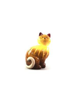 Садовая фигура - Кошка Marquis. Цвет: коричневый, кремовый