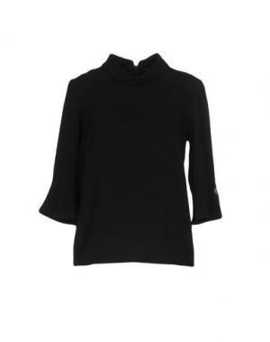 Блузка NAUGHTY DOG. Цвет: черный