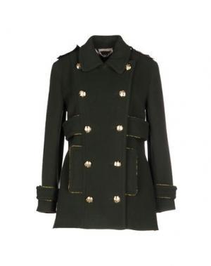 Пальто TENAX. Цвет: зеленый-милитари