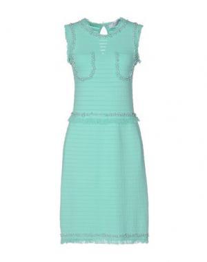 Короткое платье 22 MAGGIO BY MARIA GRAZIA SEVERI. Цвет: светло-зеленый