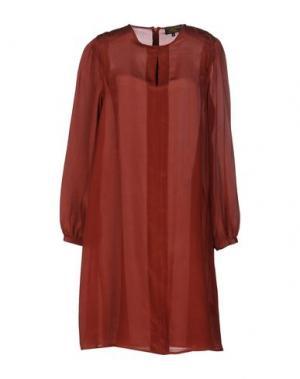 Платье до колена LE MONT ST MICHEL. Цвет: красно-коричневый
