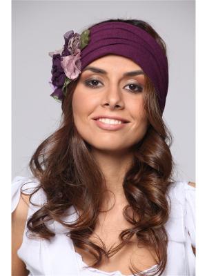 Повязка на голову Lak Miss. Цвет: фиолетовый