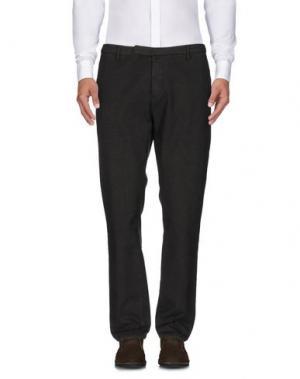 Повседневные брюки INDIVIDUAL. Цвет: темно-зеленый