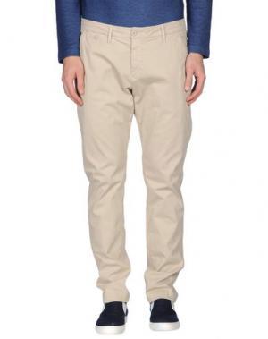 Повседневные брюки STAFF JEANS & CO.. Цвет: бежевый