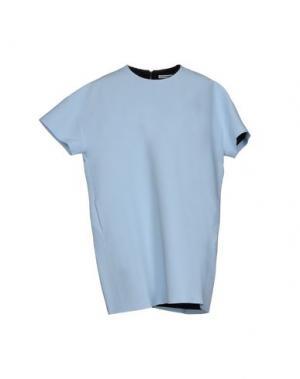 Короткое платье MARTA MARTINO. Цвет: небесно-голубой