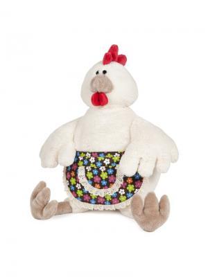 Курочка Ряба, 38 см (MT-TSA-8326-38S) MAXITOYS. Цвет: бежевый, красный, оранжевый, белый, салатовый, коричневый, голубой