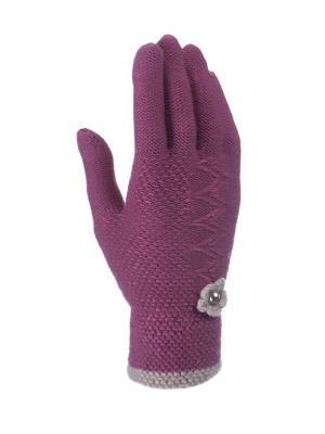 Перчатки для девочки Cascatto. Цвет: лиловый