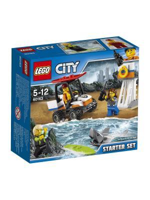 City Coast Guard Набор для начинающих Береговая охрана 60163 LEGO. Цвет: синий
