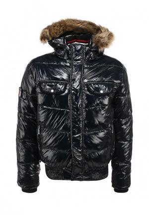 Куртка утепленная Hi-Tec. Цвет: синий