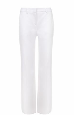 Укороченные расклешенные брюки со стрелками Emilio Pucci. Цвет: белый