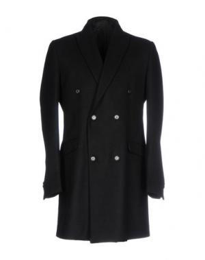 Пальто SSEINSE. Цвет: черный