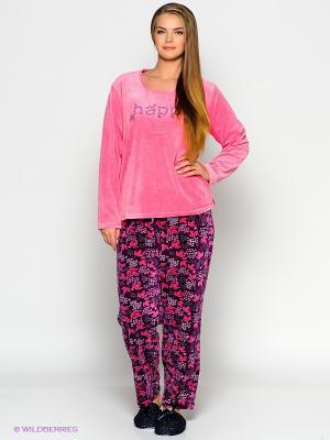 Комплект Vienetta Secret. Цвет: розовый, фиолетовый
