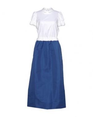 Длинное платье REDValentino. Цвет: белый