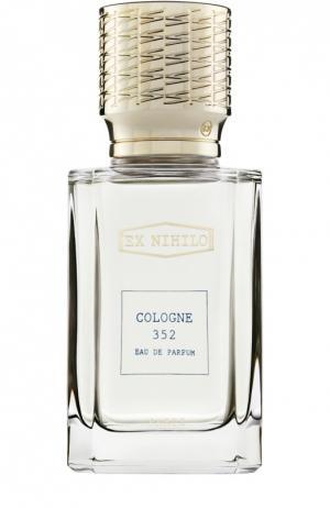 Мужская парфюмерная вода Cologne 352 Ex Nihilo. Цвет: бесцветный