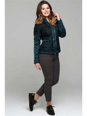 Куртка Modress. Цвет: зеленый, темно-зеленый