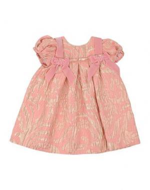 Платье I PINCO PALLINO I&S CAVALLERI. Цвет: пастельно-розовый
