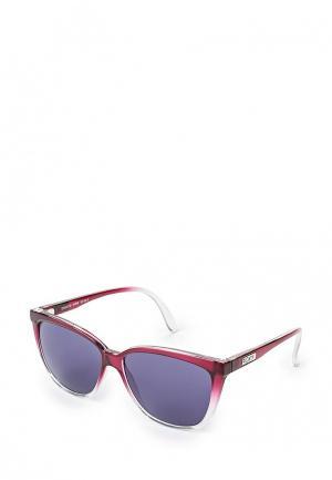 Очки солнцезащитные Roxy. Цвет: бордовый