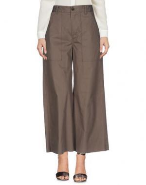 Повседневные брюки VIRNA DRÒ®. Цвет: зеленый-милитари