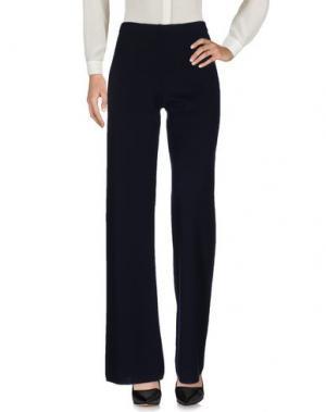 Повседневные брюки NEERA. Цвет: темно-синий