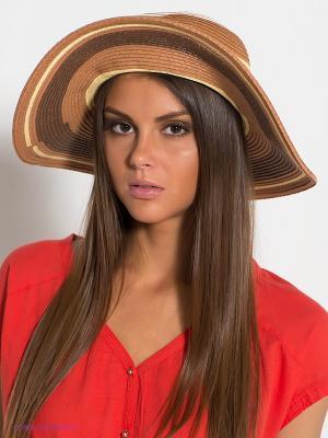 Шляпа Canoe. Цвет: темно-коричневый, коричневый