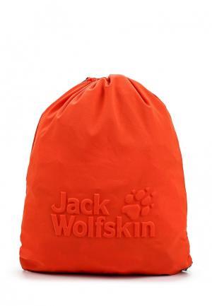Мешок Jack Wolfskin. Цвет: оранжевый