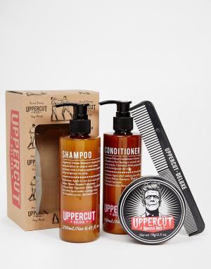 Uppercut Deluxe Подарочный набор для ухода за волосами Hair Monster. Цвет: черный