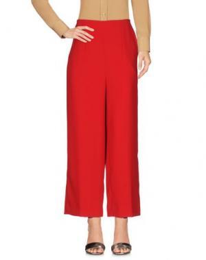 Повседневные брюки TARA JARMON. Цвет: красный