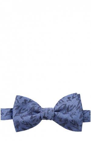 Галстук-бабочка Lanvin. Цвет: синий