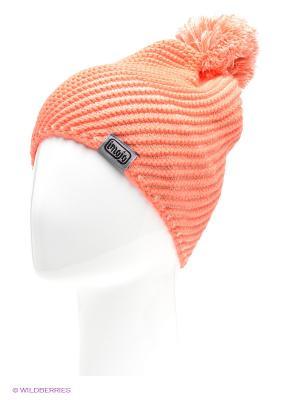 Шапка Imojo. Цвет: оранжевый