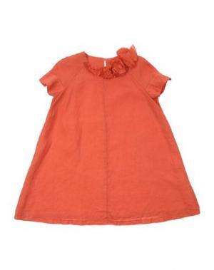 Платье EUROPEAN CULTURE. Цвет: оранжевый