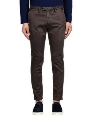 Повседневные брюки HAIKURE. Цвет: темно-коричневый