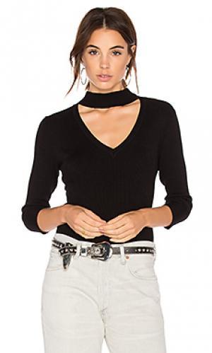 Rib choker sweater 525 america. Цвет: черный