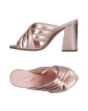 Сандалии ANNA F.. Цвет: розовый