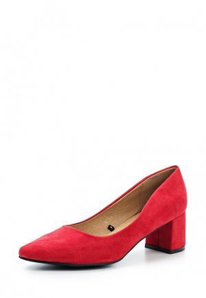 Туфли Benini. Цвет: красный