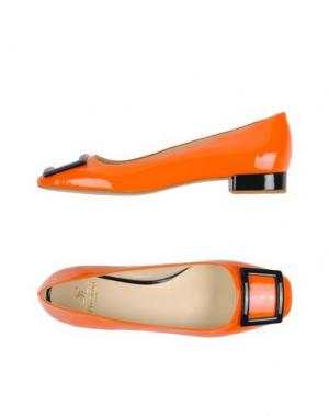Туфли PREZIOSO. Цвет: оранжевый