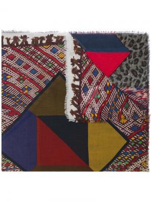 Graphic print scarf Pierre-Louis Mascia. Цвет: многоцветный
