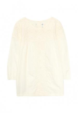 Блуза Gap. Цвет: бежевый