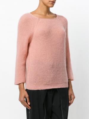 Толстовка Bowen Mih Jeans. Цвет: розовый и фиолетовый