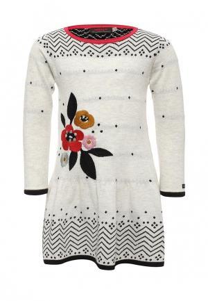 Платье Catimini. Цвет: серый