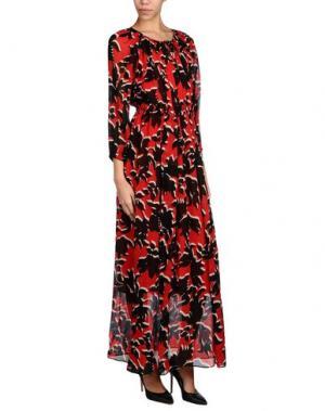 Длинное платье GERARD DAREL. Цвет: красный