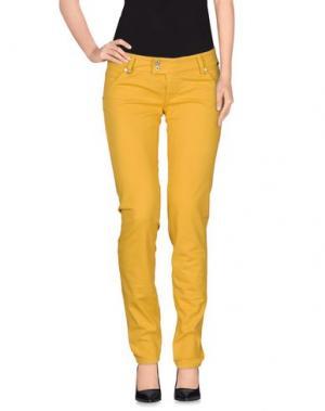 Повседневные брюки RA-RE. Цвет: охра