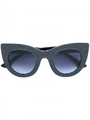 Солнцезащитные очки Orgasmy Thierry Lasry. Цвет: чёрный