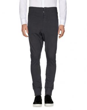 Повседневные брюки NICOLAS & MARK. Цвет: свинцово-серый