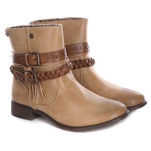 Cапоги женские  Skye J Boot Tan Roxy. Цвет: бежевый
